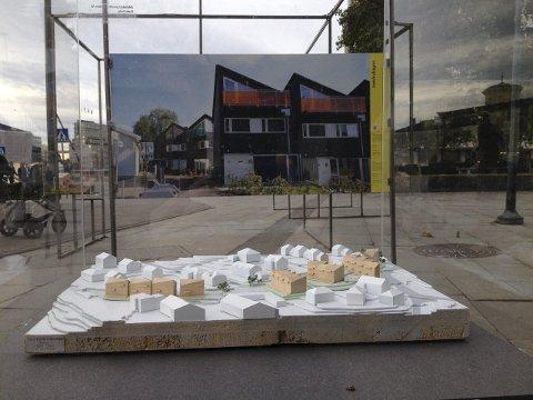 JOMFRUHAGEN: Rekkehusprosjektet til Obos på Jomfrubråten er blant de 25 nominerte til Oslo bys arkitekturpris 2015.