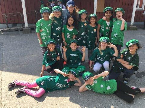 RUSSETID: Klemetsrud Aktivitetsskole arrangerte egen russetid for fjerdeklassingene. Se flere bilder under artikkelen.