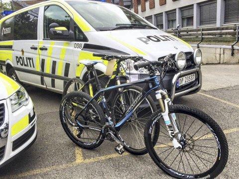 STOR ØKNING: Politiet advarer sykkeleiere etter en markant økning i sykkeltyverier den siste tiden. Foto: Manglerud politistasjon