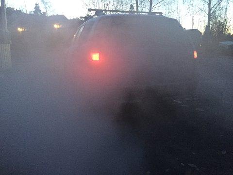 DÅRLIG LUFT: Oslolufta er nå så dårlig at det innføres midlertidig dieselforbud tirsdag og onsdag denne uken. Illustrasjonsfoto: Nina Schyberg Olsen
