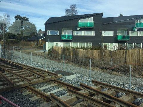 SKINNEARBEIDER: det har i lengre tid pågått arbeider med å skifte ut skinnegang, signalanlegg med mer på Ekebergbanen. Arkivfoto