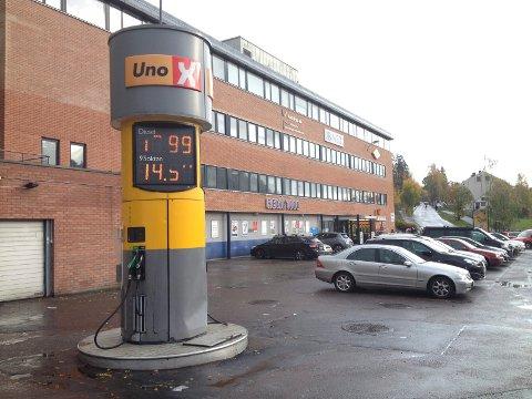 SKAL BORT: Etter påske skal bensinautomaten på Hauketo fjernes. Arkivfoto