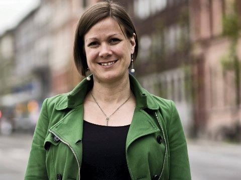 Byutviklingsbyråd: Hanna Marcussen. Foto: Monica Løvdahl