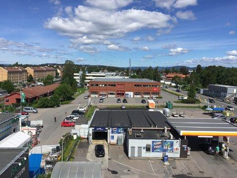 UTBYGGING: Dette området mellom Lambertseter og Karlsrud er i utvikling. - For Høyre er det uaktuelt å akseptere høyhus som fullstendig vil endre bomiljøet i bydelen, skriver artikkelforfatteren. Foto: Nina Schyberg Olsen