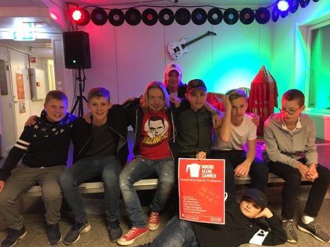 Manglerud ungdomshus inviterer lørdag til konsert til inntekt for TV-aksjonen. Foto: Privat