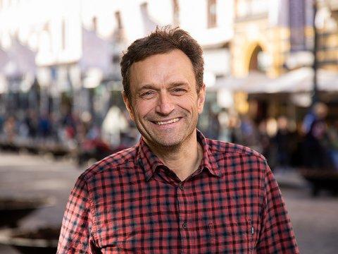 BERGENSER PÅ BØLER: Arild Hermstad og familien har forlatt Bergen til fordel for Oslo og Østmarka.