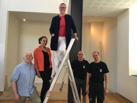 Fra v: Lars Petter Solås, Oddbjørg Minos og Pia Farstad von  Hall