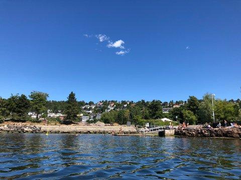 VARM FJORD: I midten av juli ble det målt moderat til høy risiko for tilstedeværelse av vibriobakterier i Oslofjorden.