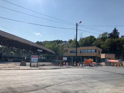 VÅRVEIEN 53: Om noen få uker er den nye gjenbruksstasjonen i Bydel Nordstrand ferdig. Foto: Nina Schyberg Olsen