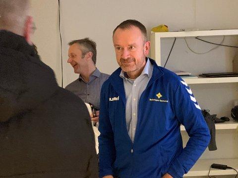FORNØYD: Generalsekretær i Norway Cup, Pål Trælvik, var selvfølgelig glad og lettet etter tirsdagens ekstraordinære årsmøte.