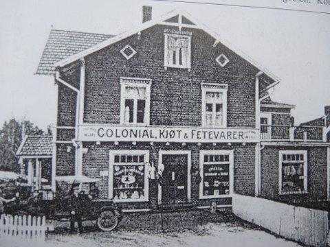 Moderne kjøpmann: Moderne fryseri, pølsemakeri og ekstra god kundeservice gjorde kjøpmann Carl Schjelle til Nordstrands største i bransjen.