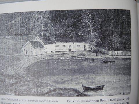 Innerst i Bekkelagsbukta: Store Bekkelaget gård ble bygd innerst i bukta, der Bekkelaget båtforening nå holder til. Her bodde de første bygslerne.