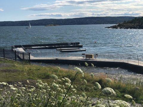 NY MOLO: Moloanlegget på Solvik bade og campingplass.