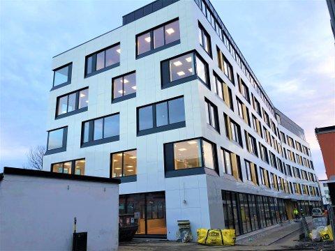 Det nye bygget ved Lambertseter senter skal hete Nordstrand bydelshus.
