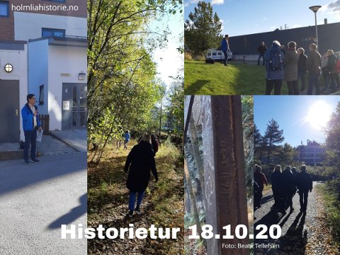 Historietur på Holmlia er populært