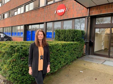 OPPFORDRER TIL Å TA KONTAKT: Hanne Sommerfelt i NAV Nordstrand oppfordrer til å ta kontakt hvis du er permittert.