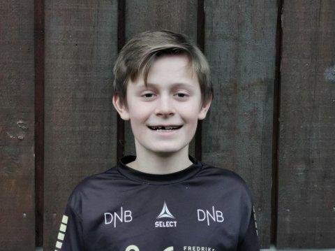 Emre Bøhm Ottar (11) fra Nordstrand.