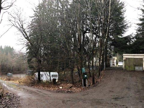 FENGSEL: På denne tomten, som nå er ute til salgs, kunne Oslos nye høysikkerhetsfengsel endt opp. Etter befaring fant Statsbygg ut at tomten ble for liten.