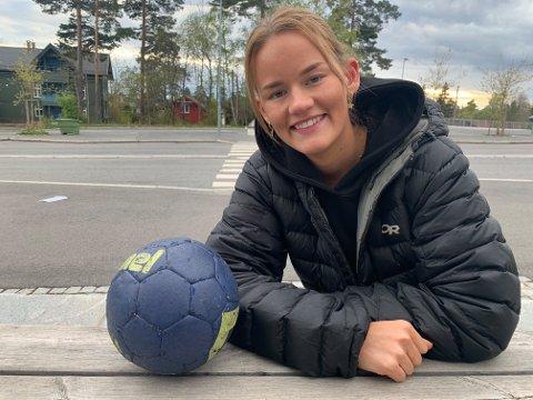 TILBAKE: Etter en sesong i Rælingen vender Nora Benjaminsen Lilleng tilbake til moderklubben Nordstrand, og spill i 1. divisjon neste sesong.