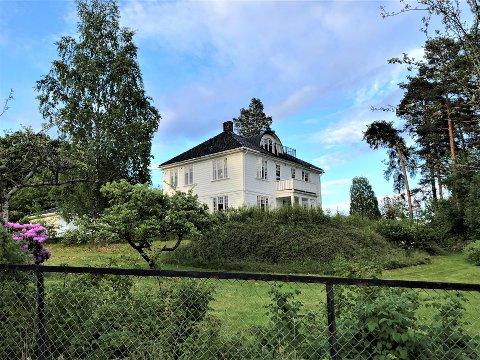 MUNKERUDVEIEN 16: Politikerne i Oslo bystyre skal nå avgjøre hva slags fortetting som skal tillates på denne eiendommen.