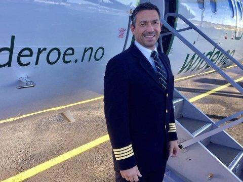 LUFTENS HELT: – Jeg har verdens beste jobb i verdens beste flyselskap, sier Michel Fernandez Pirret.