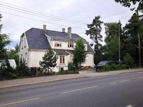 VILLA HELLAS: Dette gamle huset, som skal ha gått under navnet Villa Hellas, hadde adresse Ekebergveien 231.
