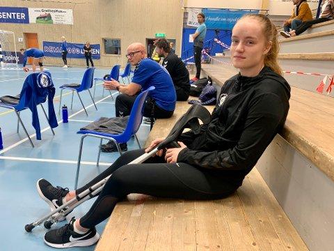 MAKS UFLAKS: Islandske Birta Rùn Gretarsdottir må belage seg på ett år på sidelinjen etter at korsbåndet røyk for noen dager siden.