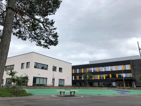 SMITTE: Nordseter skole håndterer for tiden en smittesituasjonen.