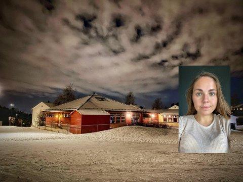 ØNSKER Å BEVARE BARNEHAGEN:  – Det er virkelig ikke gjennomtenkt å stenge en barnehage med en så god plassering, sier SU-leder ved Manglerud barnehage, Tina Eugenie Bakaas (24).