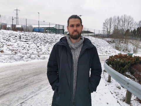 SPENT: Knut Grønna (37) er prosjekt koordinator for Bydelsfedre i Østensjø. Grønna forteller at han ser frem til å bli kjent med flere fedre i bydelen.
