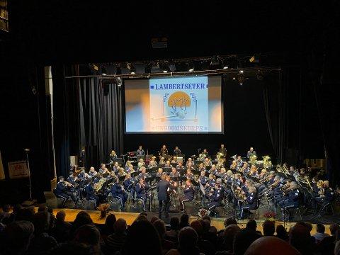 Jubileumskonsert i Kolben Kulturhus.