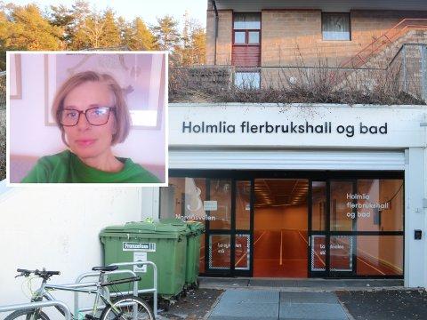 Inger-Helene Bratberg kommer ikke til å fortsette å svømme like mye på Holmlia bad etter at billettprisene har økt.