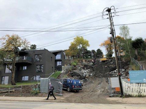 I skråningen vis a vis Jacobs på Holtet kommer det til sammen elleve nye boliger, fordelt på to ulike prosjekter.