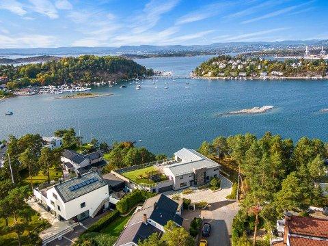 Denne boligen på Ulvøya er bydelens nest dyreste enebolig.