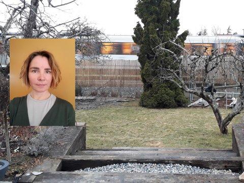 Silje Sommersol (45) bor på Godlia og rett ved skinnegangen. - T-banen går forbi oss fire ganger i kvarteret, og hver gang får jeg en stressfølelse i kroppen. Det er ganske grusomt, sier hun.