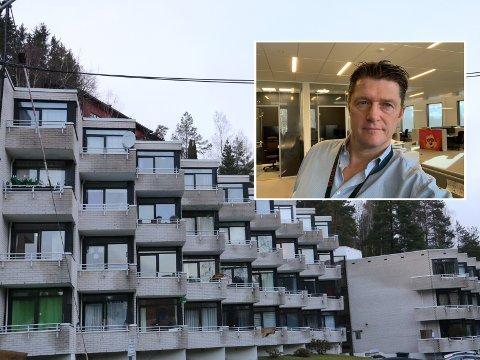Det er ikke ofte du ser en leilighet i Munkerudkleiva 10 til salgs. Styreleder Bjørn Harald Aanensen bekrefter dette.