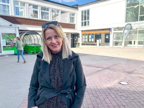 BYLIV: Senterleder på Lambertseter, Silje Nordgaard Asper, ønsker å skape et godt byliv på den gamle delen av Lambertseter senter.