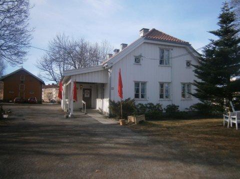 Manglerud gård, hvor forrige årsmøte ble avholdt.