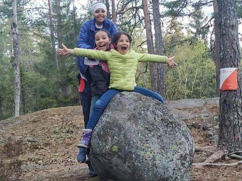 Tur-Orientering har blitt populært blant barnefamilier under koronatiden