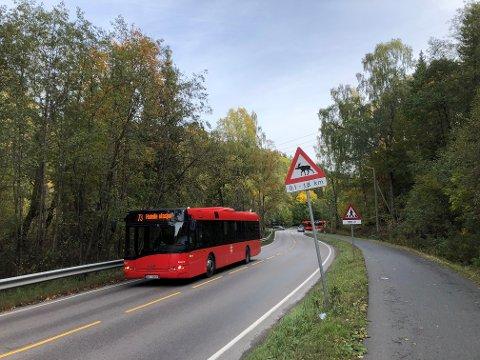 Både kollektivfelt, rundkjøringer og bedre gang- og sykkelveiløsninger er under planlegging i Ljabruveien mellom Hauketo og Klemetsrud.