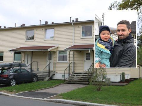 Daniel Kjempenes og familien vant budrunden på rekkehus på Lambertseter, men mistet det på forkjøpsrett.
