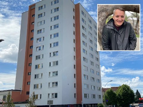 For ett år siden kjøpte Andrey Hanssen leilighet i høyblokka på Lambertseter. Nå selger han den trolig for én millioner kroner mer enn det han kjøpte den for.