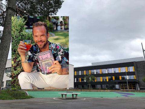 Morten Hegseth er aktuell med ny barnebok som foregår på Nordstrand.