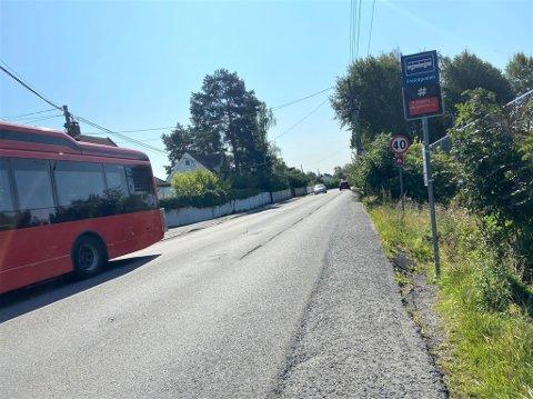 Trafikktiltak ved bussholdeplassen Freidigveien her ved Niffen har vært planlagt lenge, men nå nærmer det seg ifølge Bymiljøetaten.
