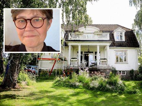 Berit Aalborg ønsker at lokalpolitikerne på Nordstrand innstiller den gamle reguleringen slik at Lambertseterveien blir liggende slik den er i dag, og ikke berører hennes eiendom.
