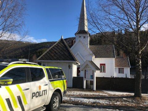 Sel kirke ble forsøkt påtent natt til torsdag.