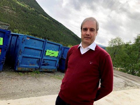 Daglig leder i Nord-Gudbrandsdal Renovasjonsselskap, Pål Sverre Andgard.