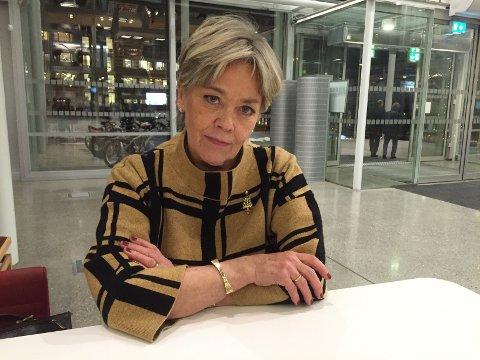 OPPGITT: Anna Amdal Fyhn (H) er rystet over at byrådespartiene ikke støtter lovendringen som skal styrke pasienters rett til sykehjemsplass.