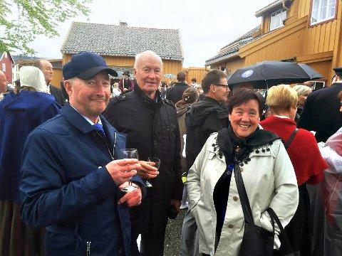 INVITERT: Øystein Figenschau (til venstre), Ernst Hansen og Mette Gran Fredriksen fikk alle invitasjonsbrev i posten.