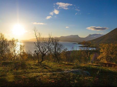 SAVNET: Mennene skulle gå fra Abisko til Björkliden. Illustrasjonsfoto.